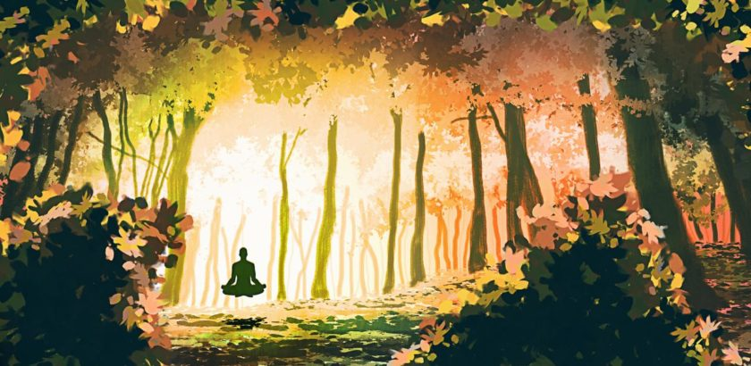 Meditation En Foret by Madcarak